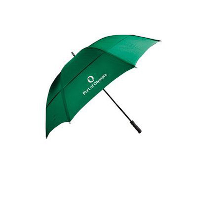 "62"" Wind-Resistant Golf Umbrella with Fiberglass Shaft and Ribs"