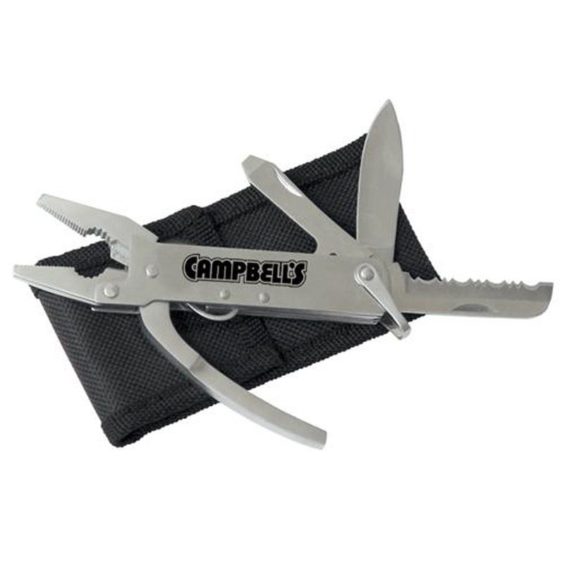 Mini Stainless Steel Multi-Tool with Nylon Case