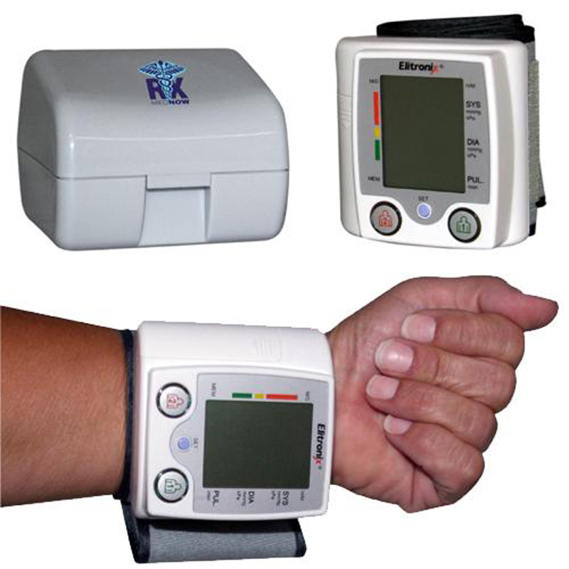 Talking Wrist Style Blood Pressure Monitor