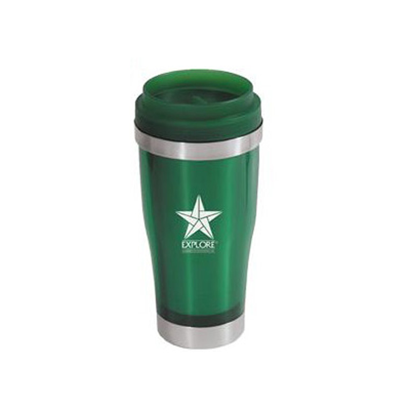 16-oz. Acrylic/Stainless Steel Tumbler with Closure Top