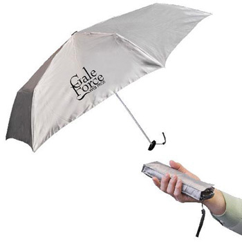 "39"" Fold-Flat Pocket Umbrella With Matching Case"