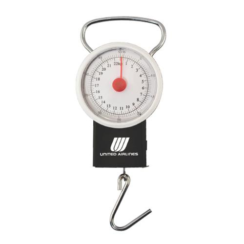 "50 lb. Luggage Scale with 39"" Tape Measure"