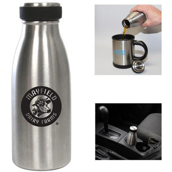 12oz. Stainless Steel Vacuum Water Bottle