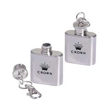 1-oz. Flask Key Ring