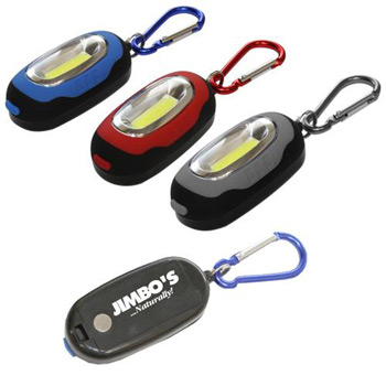 SUPER BRIGHTCOB LED Carabiner Utility Light With magnetic back