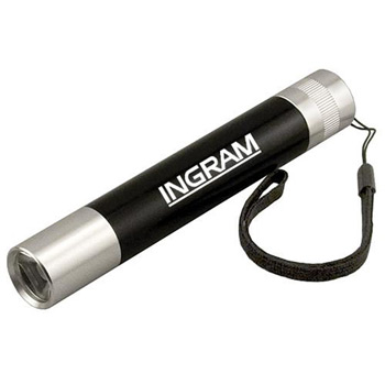 1-Watt Super-Bright LED Flashlight with Carrying Strap